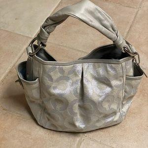 Coach canvas bag